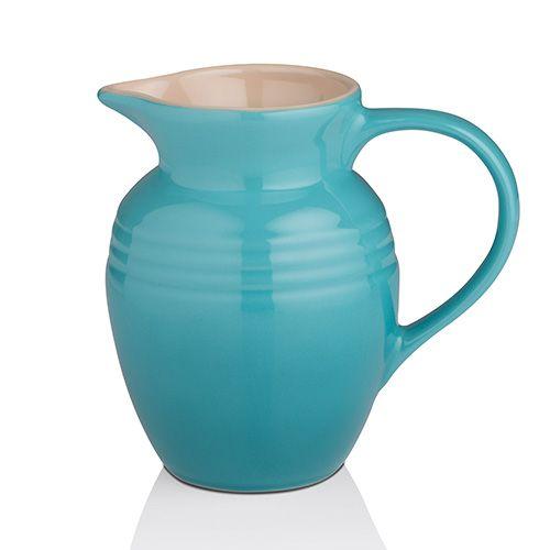 Le Creuset Teal Stoneware Breakfast Jug