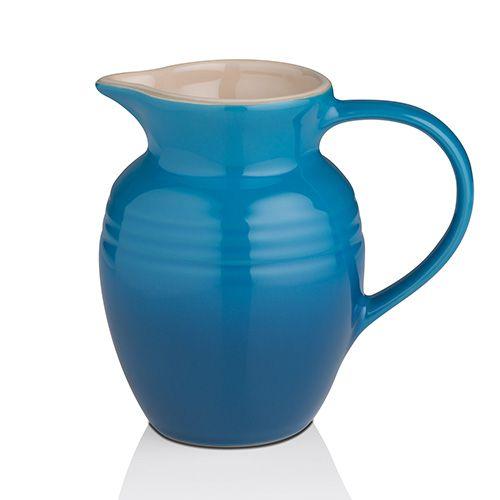 Le Creuset Marseille Blue Stoneware Breakfast Jug