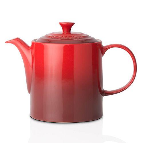 Le Creuset Cerise Stoneware Grand Teapot