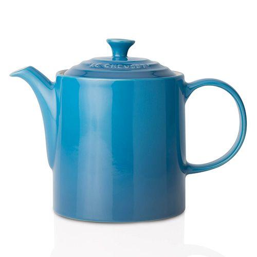 Le Creuset Marseille Blue Stoneware Grand Teapot