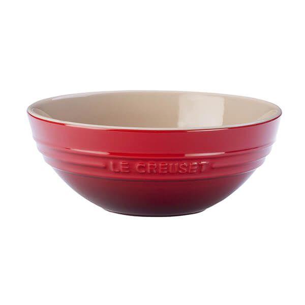 Le Creuset Cerise Stoneware 20cm Serving Bowl