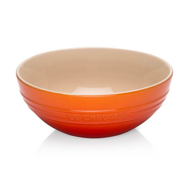 Le Creuset Volcanic Stoneware 20cm Serving Bowl