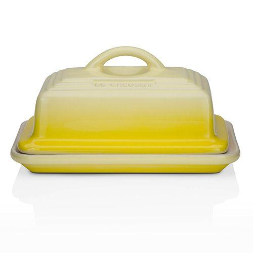 Le Creuset Soleil Stoneware Butter Dish