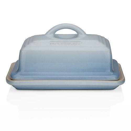 Le Creuset Coastal Blue Stoneware Butter Dish
