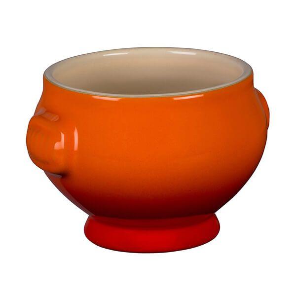 Le Creuset Volcanic Stoneware Lion Head Soup Bowl