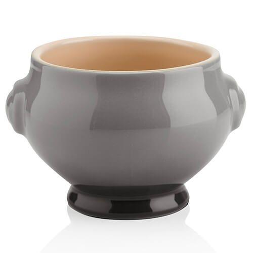 Le Creuset Flint Stoneware Lion Head Soup Bowl
