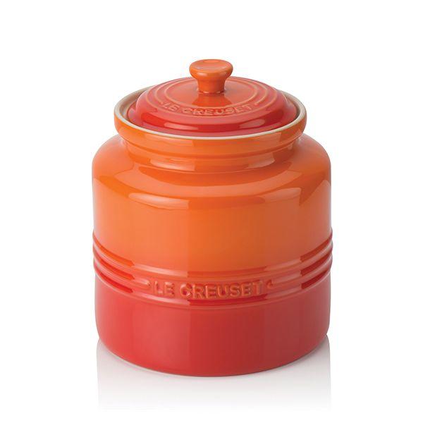 Le Creuset Volcanic Stoneware Biscuit Jar