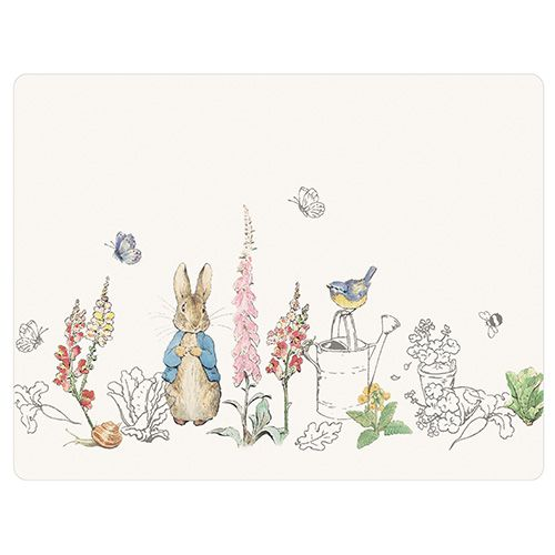 Peter Rabbit Classic Set Of 6 Tablemats