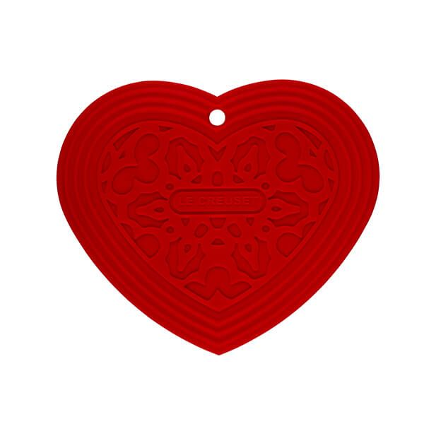 Le Creuset Cerise Heart Cool Tool