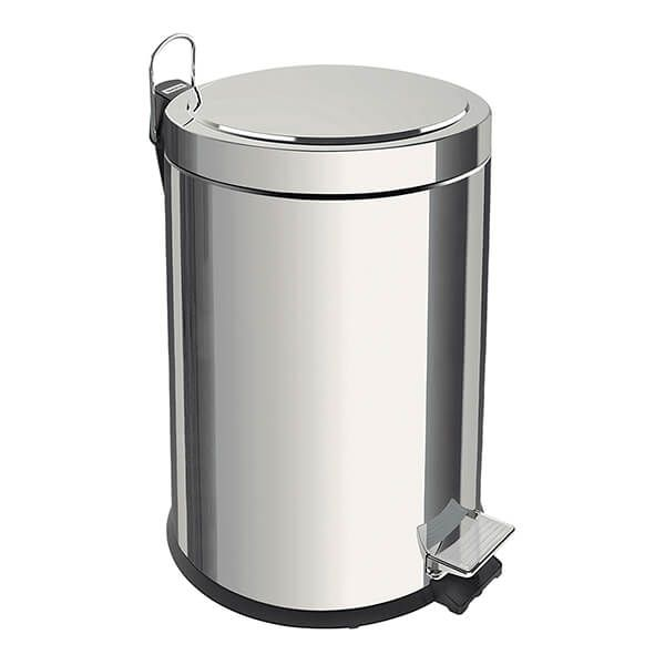 Tramontina Polished Stainless Steel Pedal Bin 20L