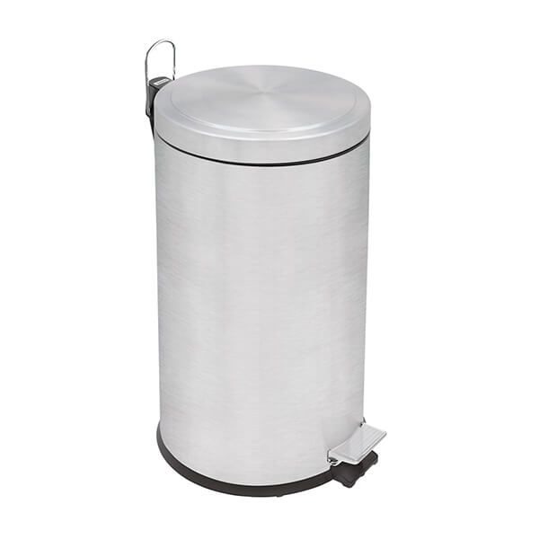 Tramontina Brushed Stainless Steel Pedal Bin 20L