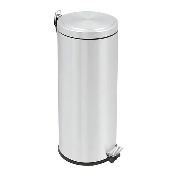 Tramontina Brushed Stainless Steel Pedal Bin 30L