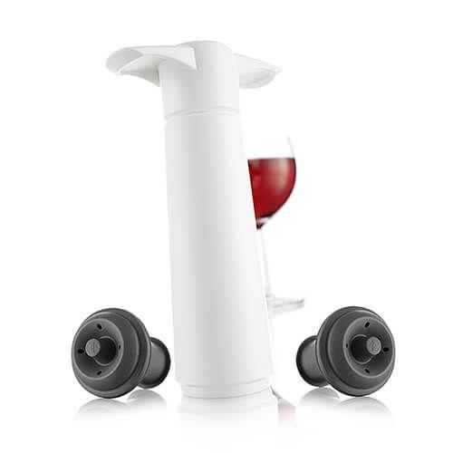Vacu Vin Wine Saver White Giftpack