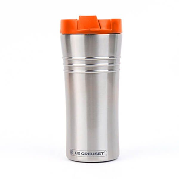 Le Creuset Volcanic Stainless Steel Travel Mug