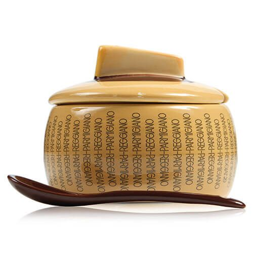 Boska Parmigiano Reggiano Large Cheese Bowl with Spoon