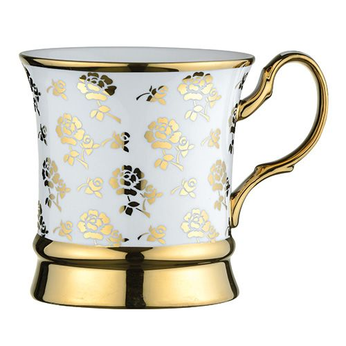 BIA Rose Mug Gold