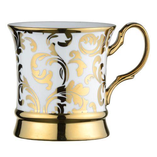 BIA Acanthus Mug Gold