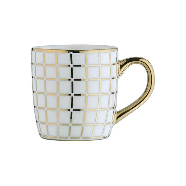 BIA Lattice Espresso Mug Gold