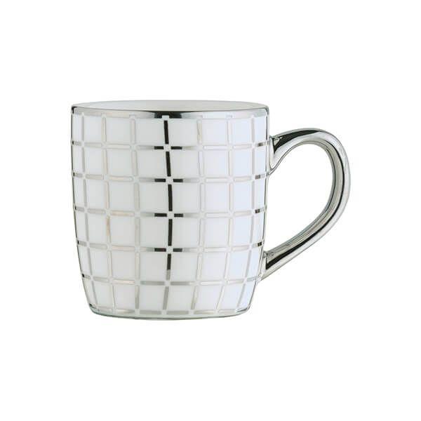BIA Lattice Espresso Mug Platinum