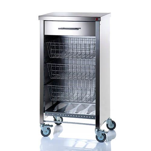 Hahn DHO Steel Cook Kitchen Trolley