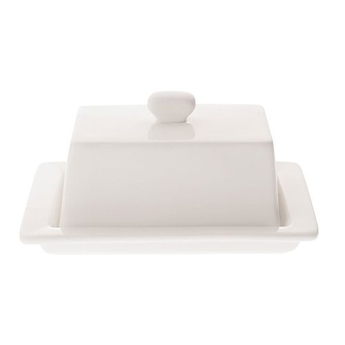 Maxwell & Williams WBA Square Covered Butter Dish