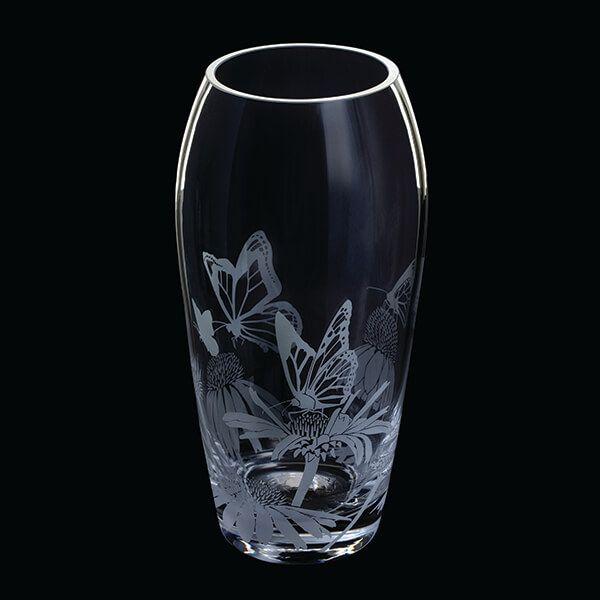 Dartington Aspect Vase Butterflies