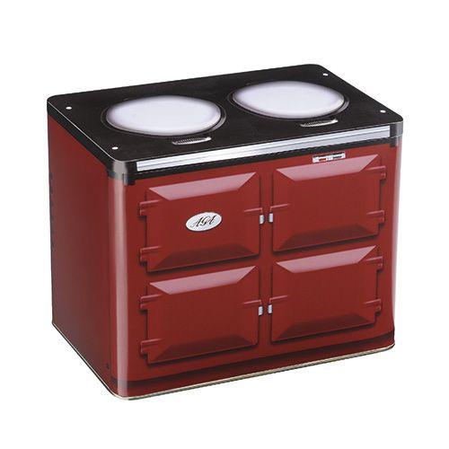 AGA Oven Claret Storage Tin