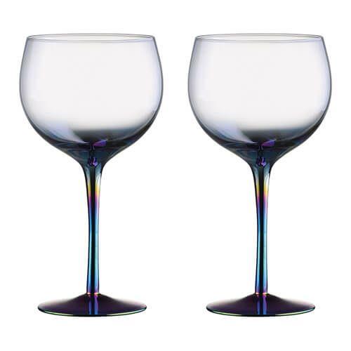 Artland Mirage Set Of 2 Gin Glasses