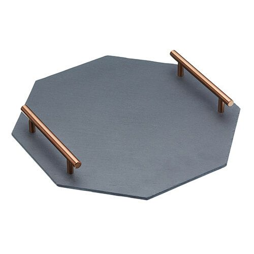 Artesa Octagonal Slate Serving Platter