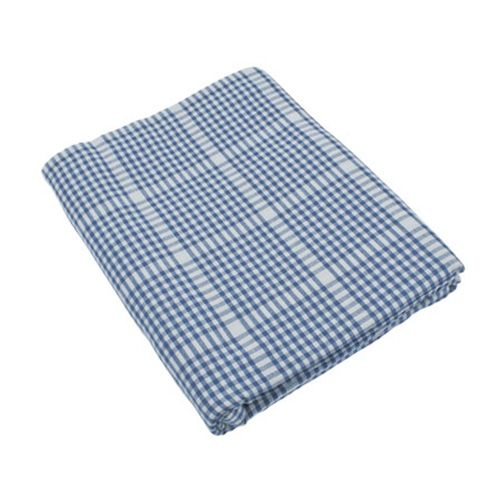 Walton & Co Auberge Gingham Tablecloth 130 x 180cm Nordic Blue