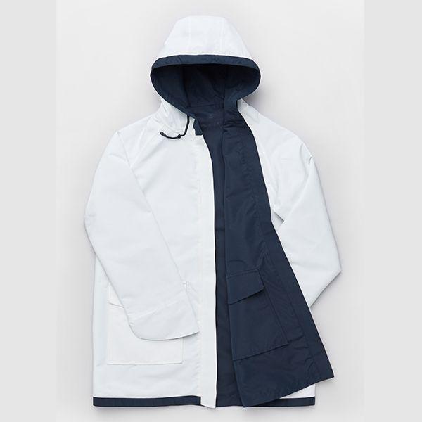 Seasalt The Reversible Raincoat Plume Size 12
