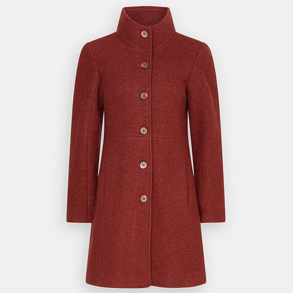 Seasalt Falmouth Dawn Coat Conker