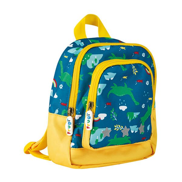 Frugi Organic Loch Blue Nessie Little Adventurers Backpack
