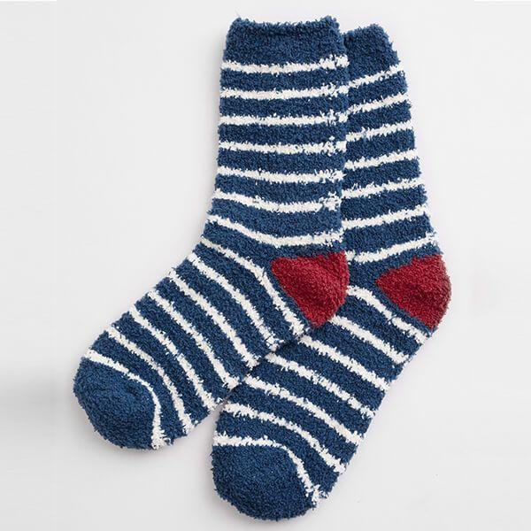 Seasalt Fluffies Socks Short Breton Galley