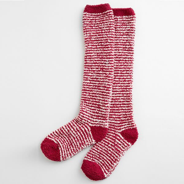 Seasalt Fluffies Socks Long Mini Stripe Flag