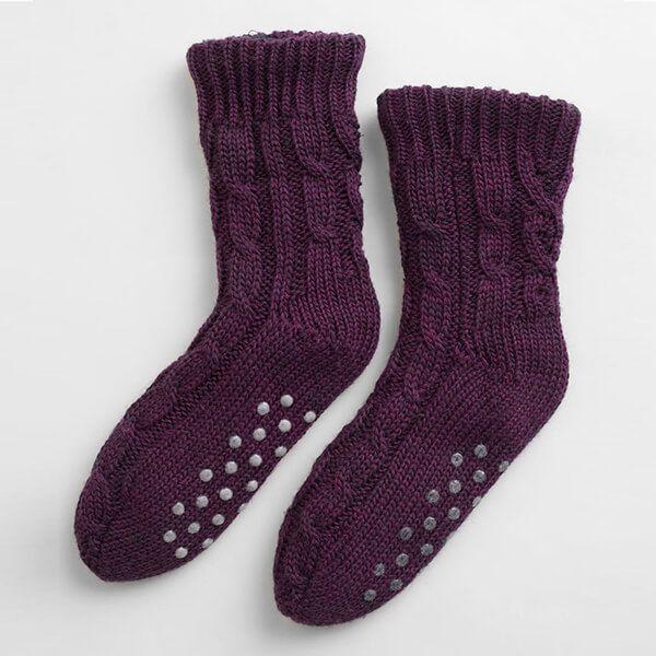 Seasalt Cottage Socks Grape