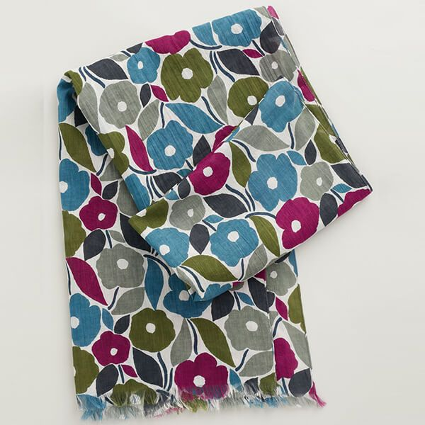 Seasalt New Everyday Scarf Chalked Blooms Mix