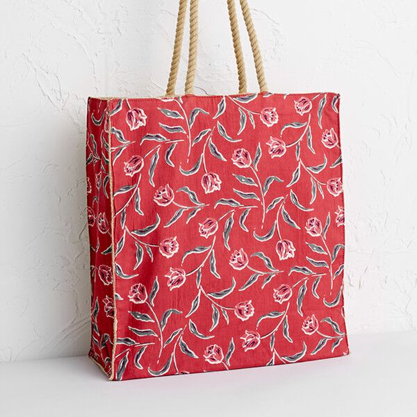 Seasalt Kitchen Garden Bag Garden Tulip Umber