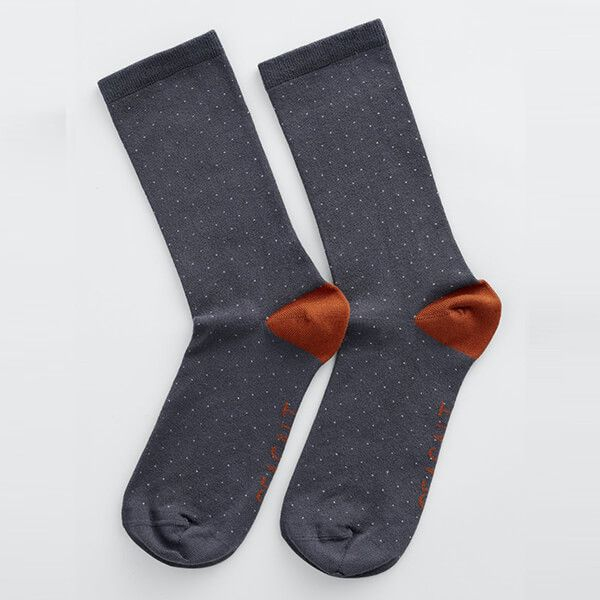 Seasalt Everyday Socks Mini Confetti Coal