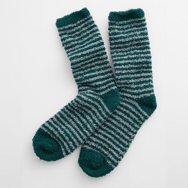 Seasalt Short Men's Fluffies Socks Canvas Thicket Smoke Grey