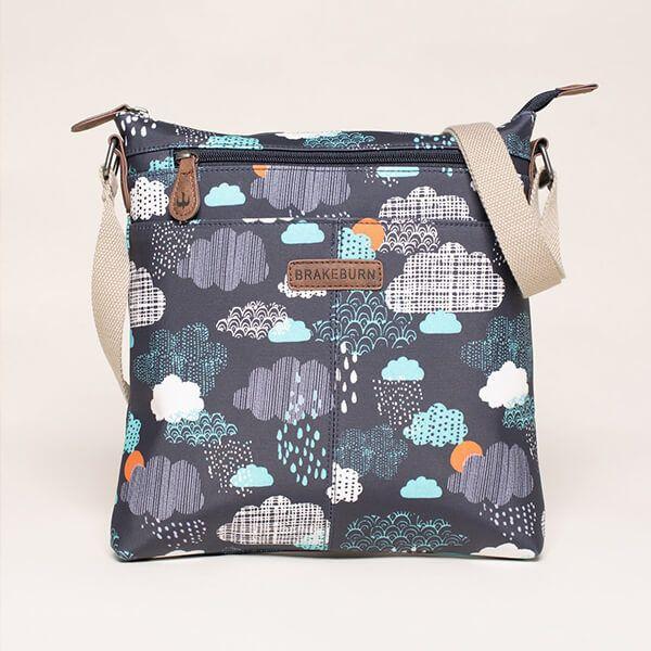 Brakeburn Rain Cloud Cross Body Bag