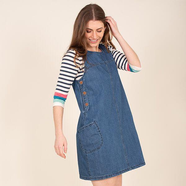 Brakeburn Denim Dress Size 8