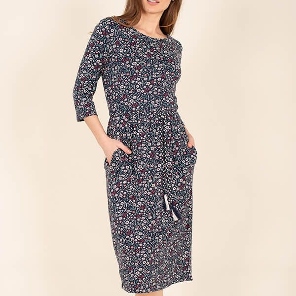 Brakeburn Ditsy Waist Dress