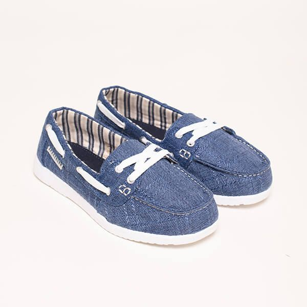 Brakeburn Navy Boat Shoes