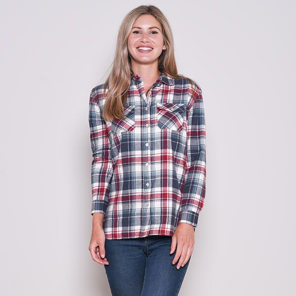 Brakeburn Check Flannel Shirt