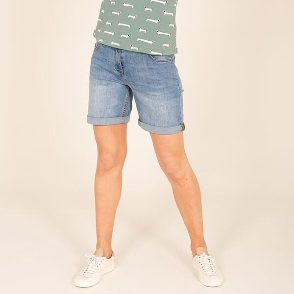 Brakeburn Blue Denim Shorts