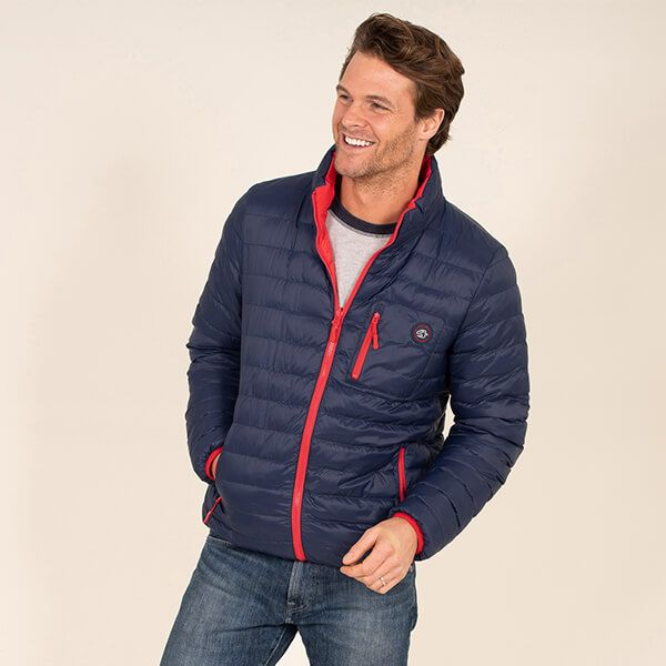 Brakeburn Mens Reversible Puffer Jacket