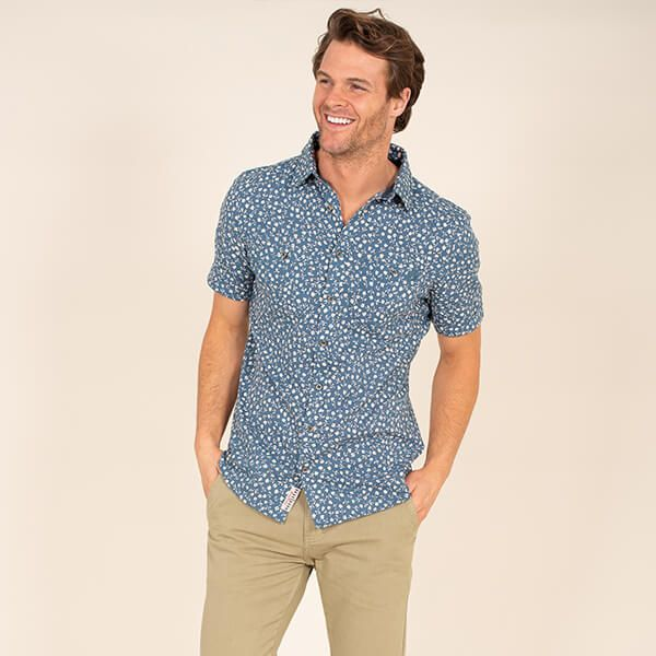Brakeburn Navy LA Jolla Shirt