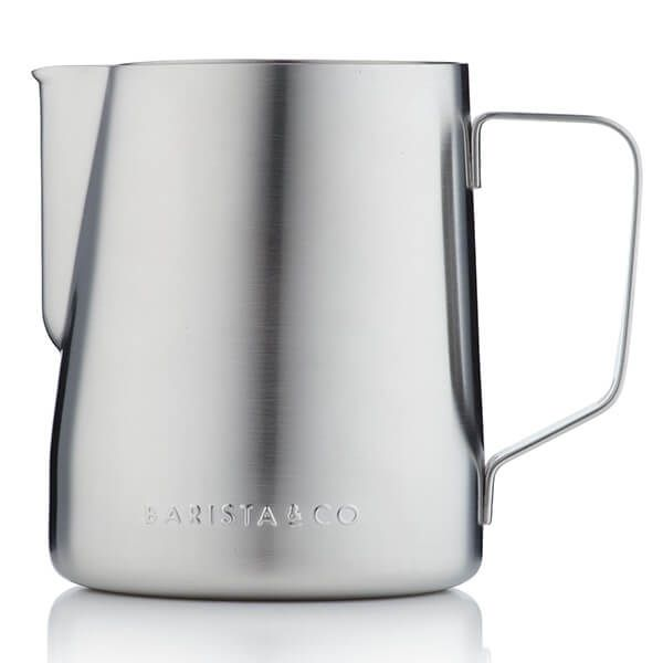 Barista & Co Beautifully Crafted Core Stainless Steel Milk Jug Steel 600ml