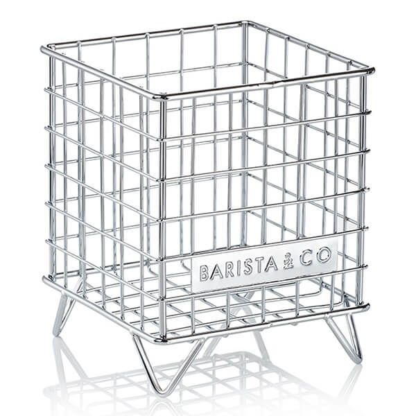 Barista & Co Beautifully Crafted Corral Pod Coffee Capsule Storage Steel